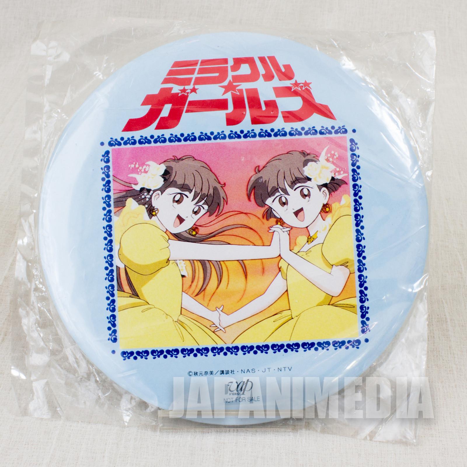 Miracle Girls Tomomi Mikage Matsunaga Big size Button badge #1 JAPAN ANIME
