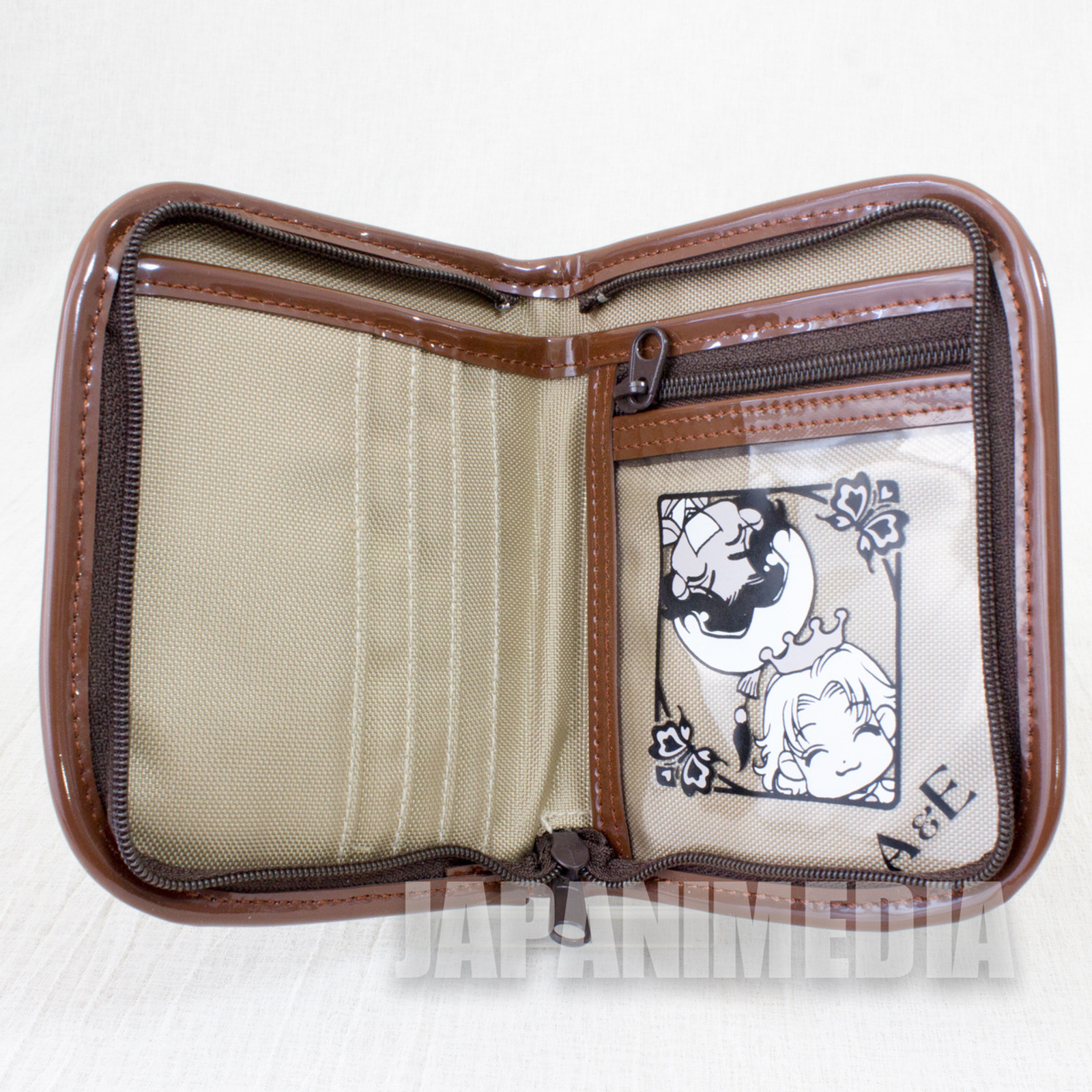 RARE!! Koucha Ouji (Tea Prince) Folded wallet [ Earl Grey / Assam ] JAPAN MANGA