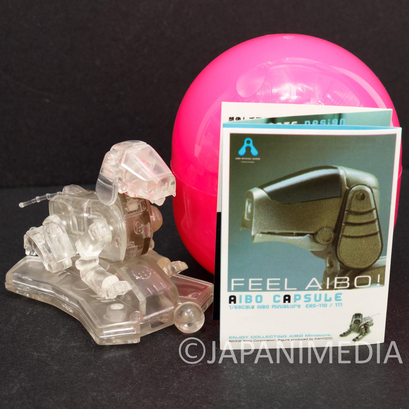 AIBO Capsule ERS-110 Translucent 1/6 Miniature Figure Kaiyodo JAPAN