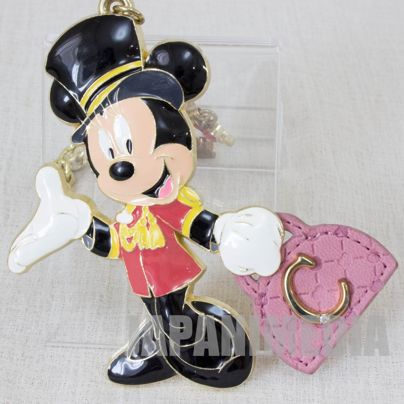 Disney Minnie Mouse Keycain & Charm 2pc Tokyo Disney Resort Disney Sea Hotel MiraCosta limited JAPAN
