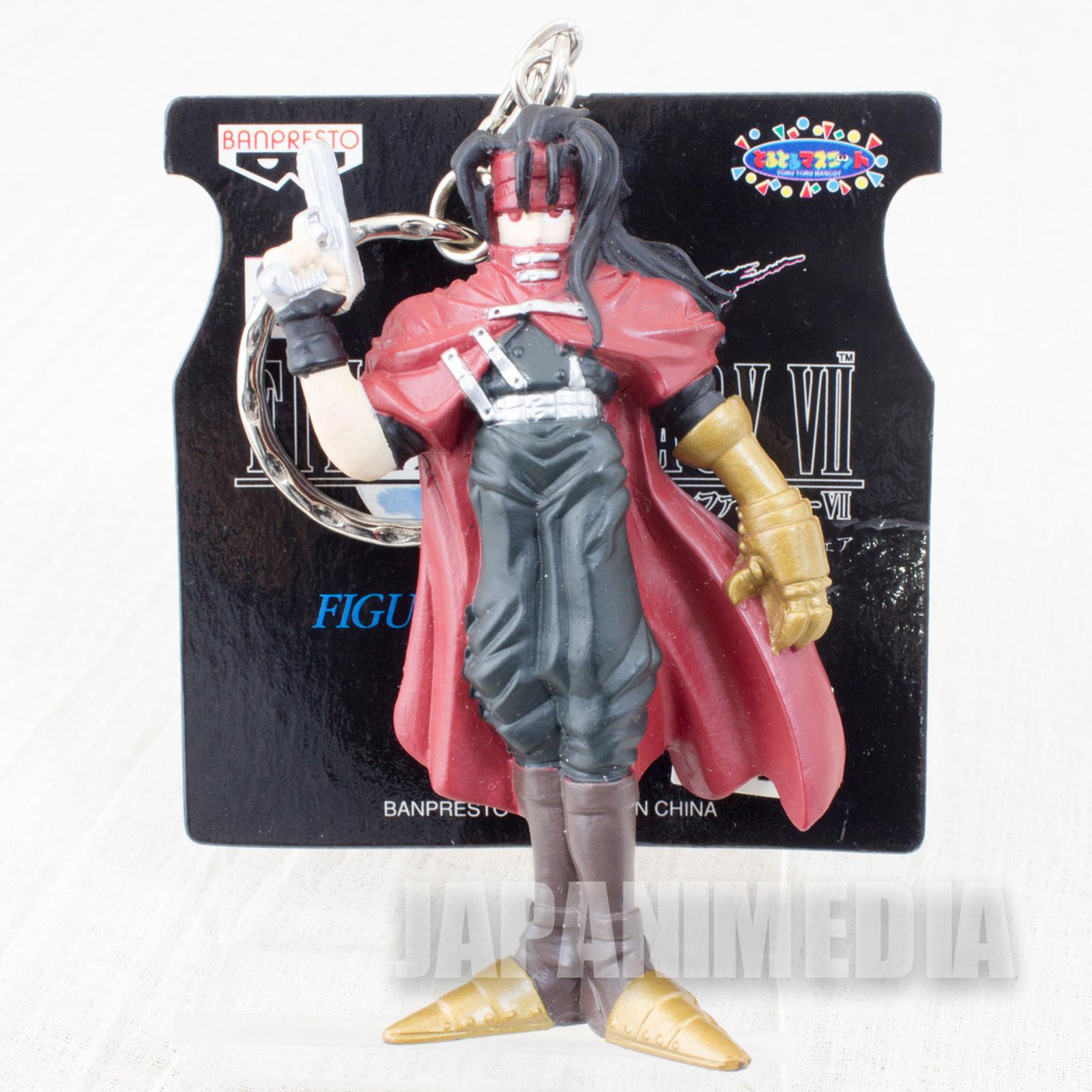 Final Fantasy VII Vincent Valentine Figure Key Chain Banpresto JAPAN SQUARE ENIX