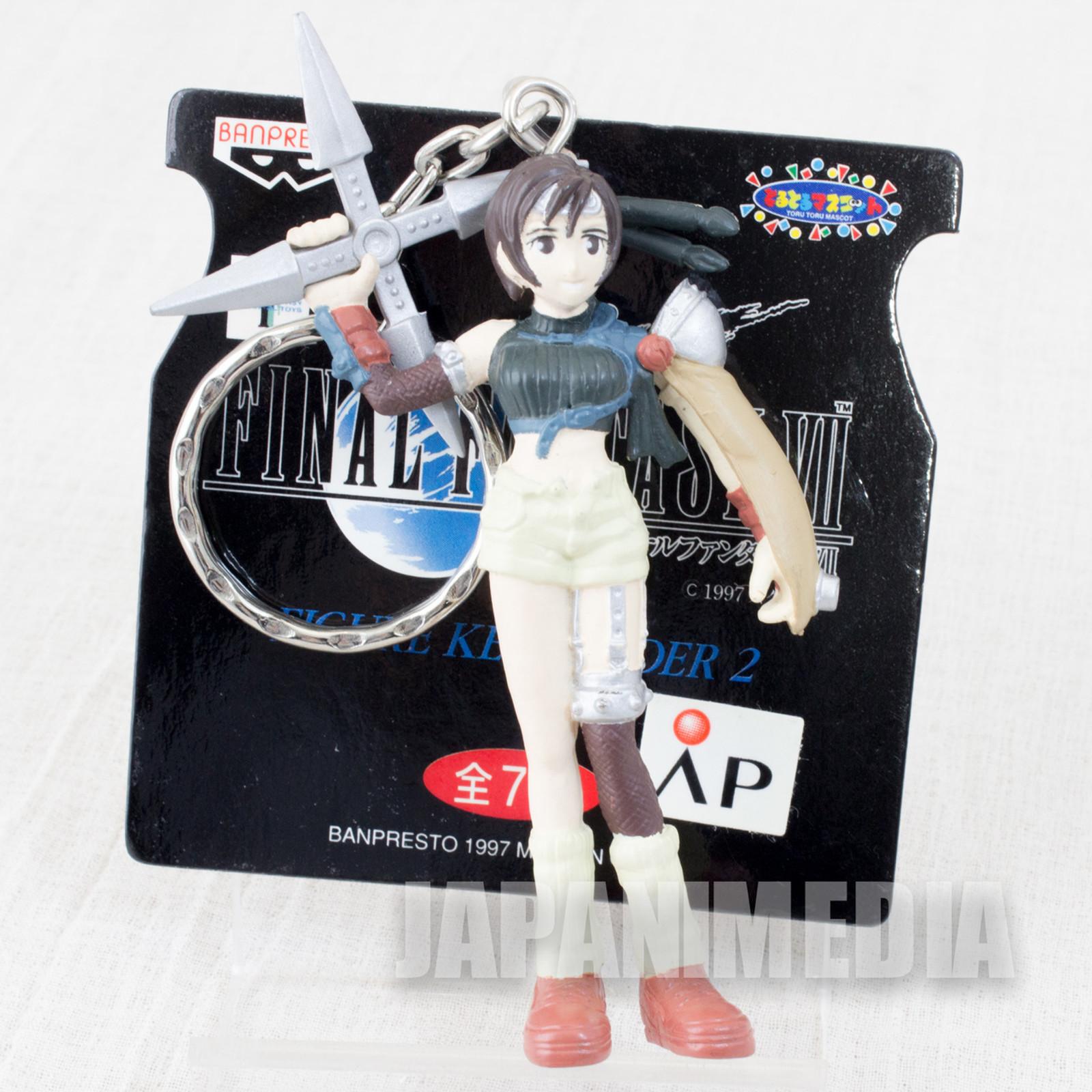 Final Fantasy VII Youfie Kisaragi Figure Key Chain Banpresto JAPAN SQUARE ENIX