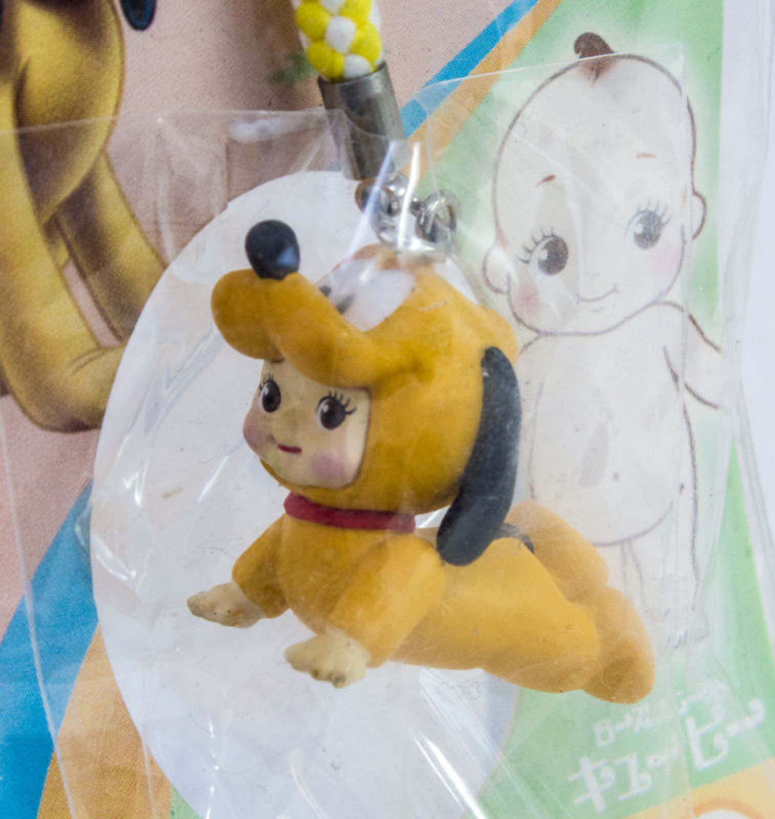 Disney Pluto Rose O'neill Kewpie Kewsion Strap JAPAN ANIME