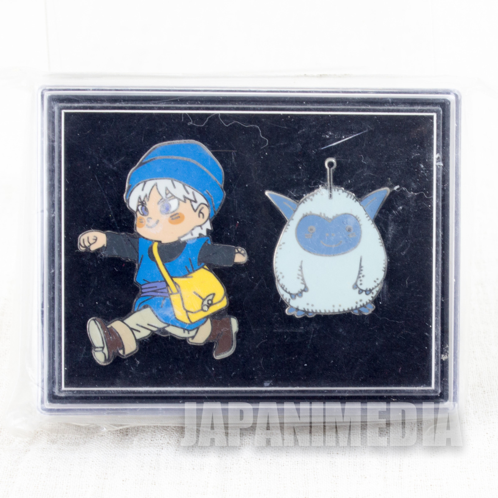 RARE! Dragon Quest Monsters Terry's Wonderland Pins Set Terry & Fluffy WARRIOR