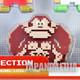 Nintendo 8bit Figure Collection Mario Luigi Kinopio Donkey Kong Link FAMICOM