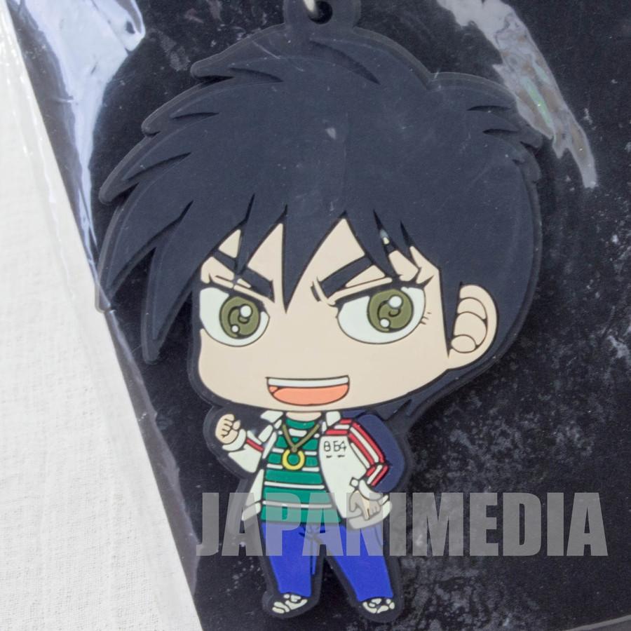 Tobaku Haouden Zero Rubber Mascot Keychain Fukumoto