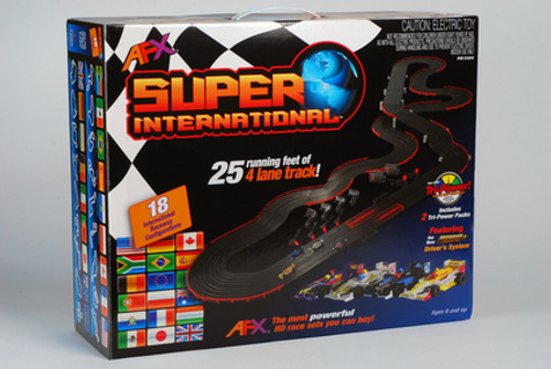 "AFX Super International ""4 Lane"""
