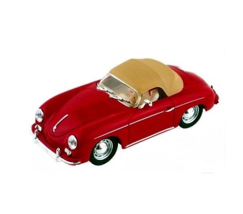 Porsche 356 Soft Top - Red 1/32 Slot Car