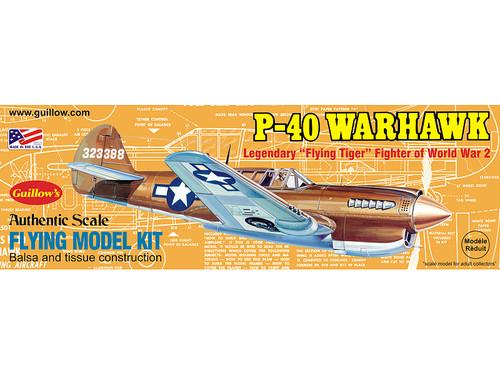 Guillows Curtis P-40 Warhawk