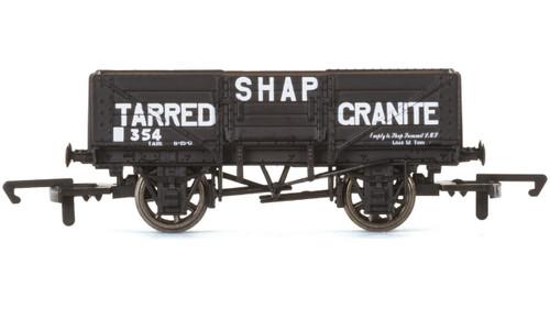 5 Plank Wagon, Shap Tarred Granite - Era 3