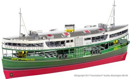 Metal Earth Hong Kong Star Ferry