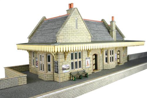 Metcalf 00/HO Stone Built Wayside Station