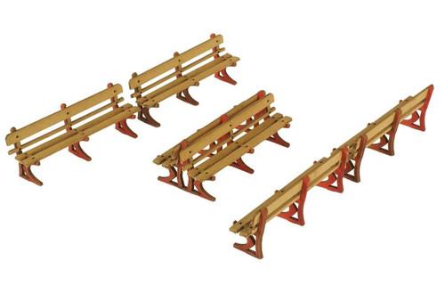 Metcalf 00/HO  Platform Benches