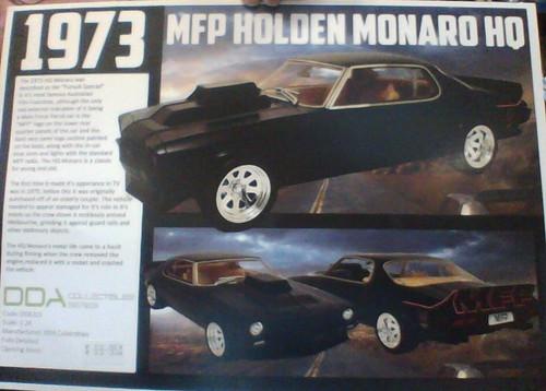 1973 MFP Holden Monaro HQ