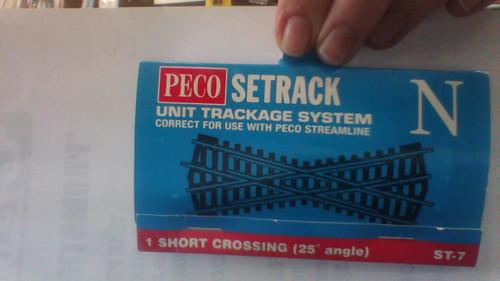 Short Crossing Set track