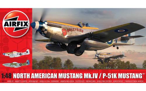 North American Mustang MK.IV/P-51K Mustang