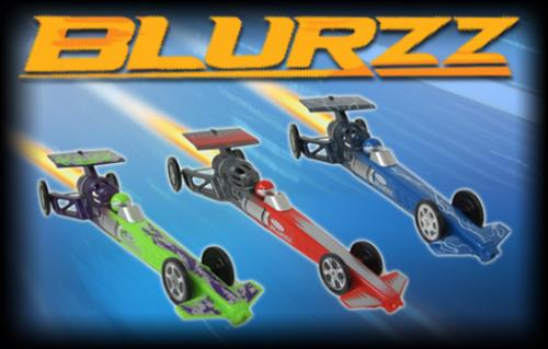 Blurzz Rocket Powered Dragster
