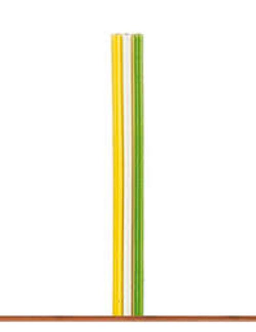 Brawa Fl. Cable 0,14 mm2, 5 m, Yellow / White / Green