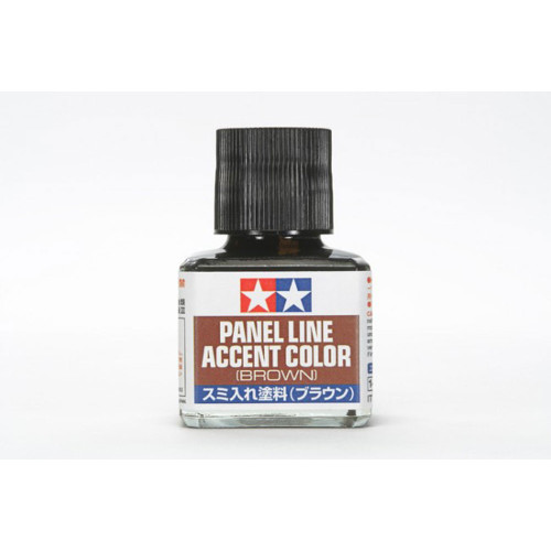 Tamiya Panel Line Accent Colour - Brown