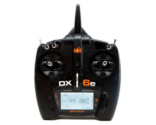 Spektrum DX6e 6 Channel DSM-X 2.4GHz Transmitter Only