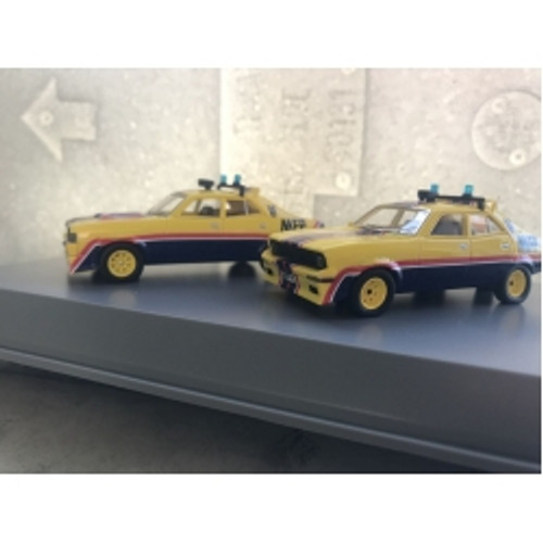 XA & XB Twin Set Pursuit Vehicles from Mad Max