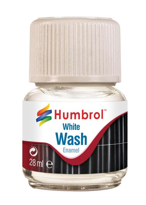 Humbrol Enamel Wash - White