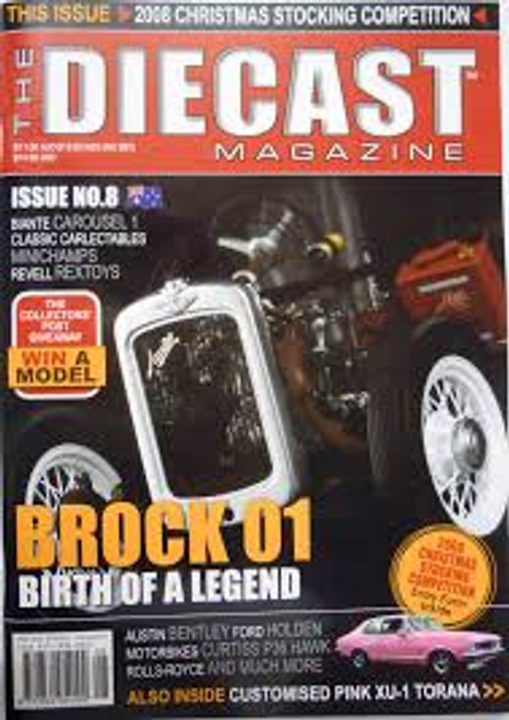 The Diecast Magazine Issue No. 8
