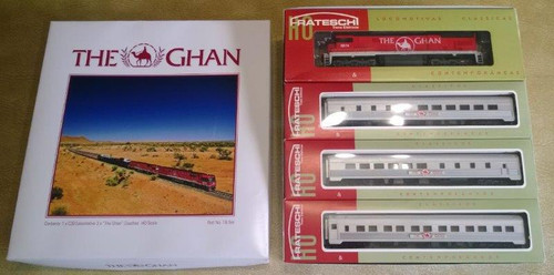"Frateschi ""The Ghan"" Set with Track"