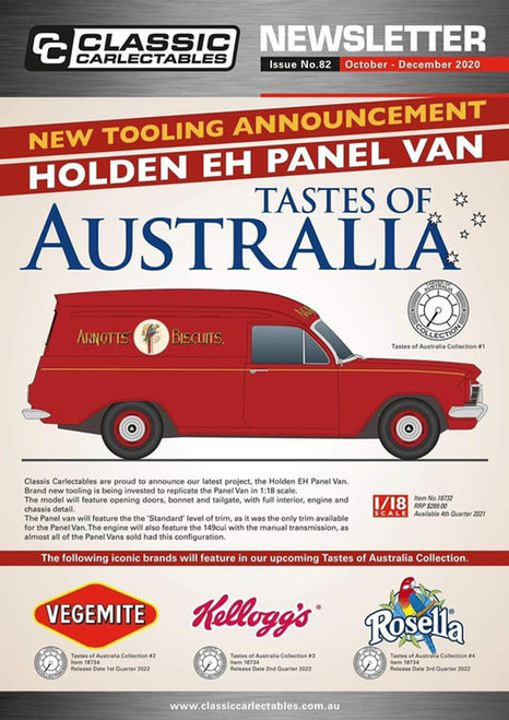 "Holden EH Panel Van ""Taste of Australia"" Rosella"