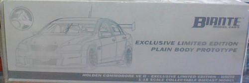 Holden VE II Holden Commodore - White