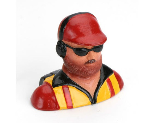 1/6 Pilot - with Beard, Hat Headphones& Glasses
