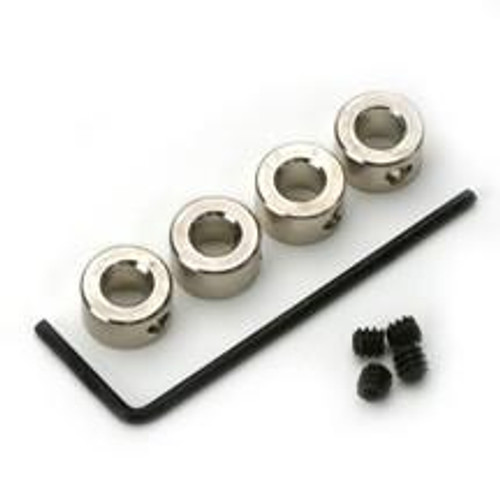 1/8in Plated Brass Dura-Collars