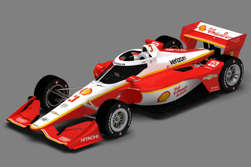 Scott McLaughlin 2020 Indy Car
