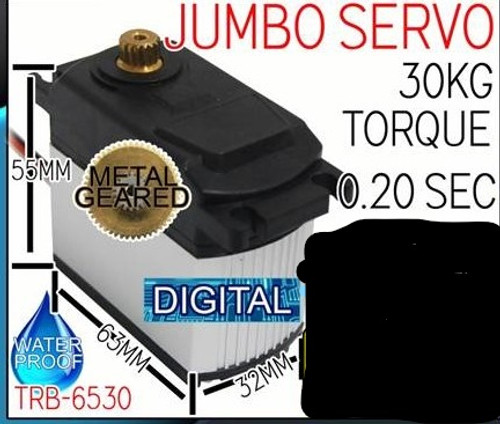 Turbo Racing Servo 30kg WP 0.20sec Metal Gear Jumbo