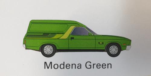 Ford XC Sundowner Modena Green