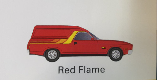 Ford XC Sundowner  Red Flame