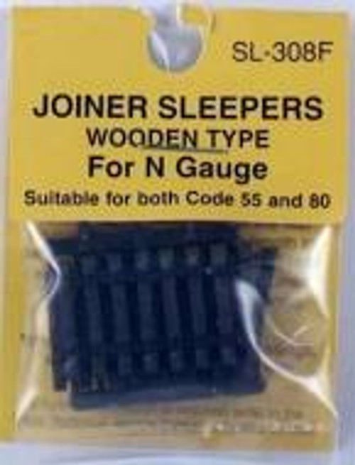 Rail Joiners  Sleepers Wooden Type N Gauge