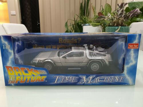 Back to the Future TIme Machine 1:18