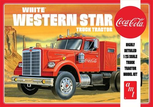 White Western Star Semi Tractor (Coca - Cola)