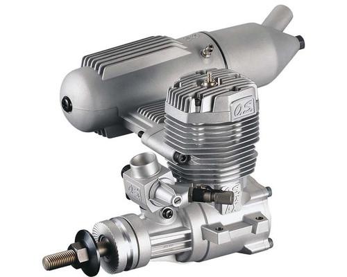 MAX 65AX Nitro Aircraft Engine, .65 Size w/ E-4010A Silencer
