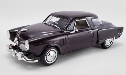 1951 Studebaker Champion - Black Cherry