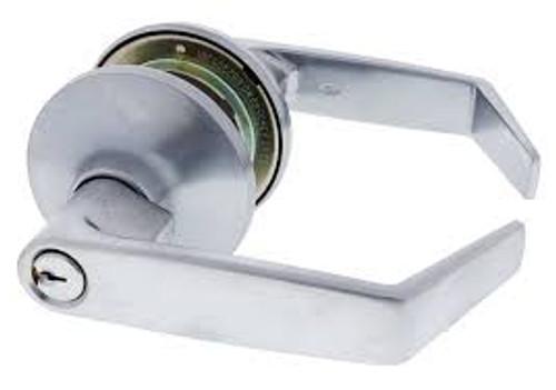 Carbine PR6000 Silver Entrance Lockset