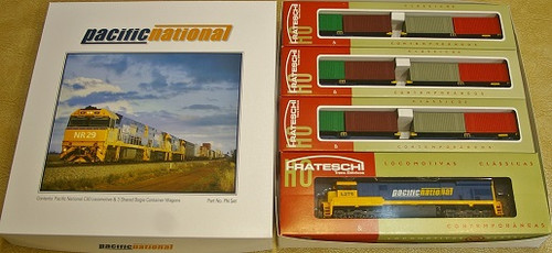 "Frateschi ""Pacific National"" Set With track"