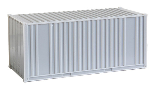 20' Corrugated Container with Flat Panel - Undecorated