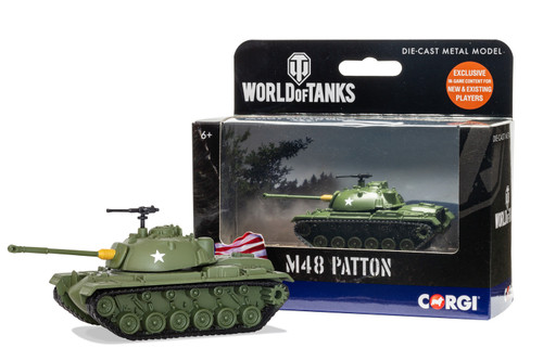 World of Tanks M48 Patton Tank