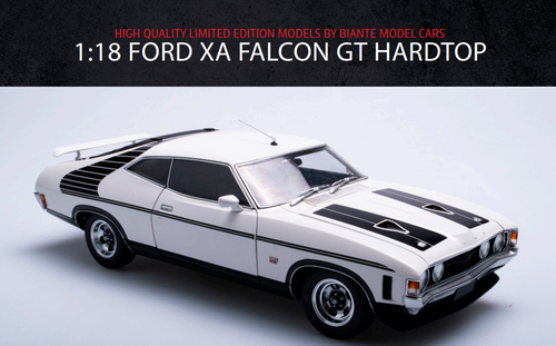 Ford XA Falcon Hardtop GT - ULTRA WHITE
