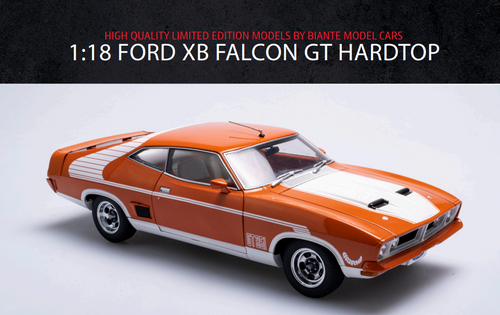 Ford XB Falcon Hardtop GT  - Burnt Orange