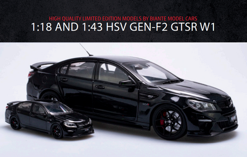 1:43 HSV GEN-F2 GTSR W1 - PHANTOM