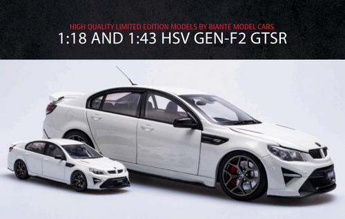 1:43 HSV GEN-F2 GTSR - HERON