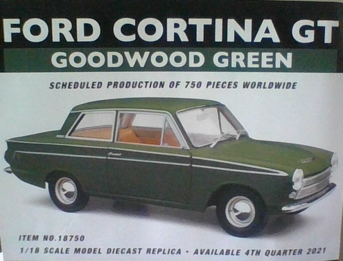 Ford Cortina GT Goodwood Green